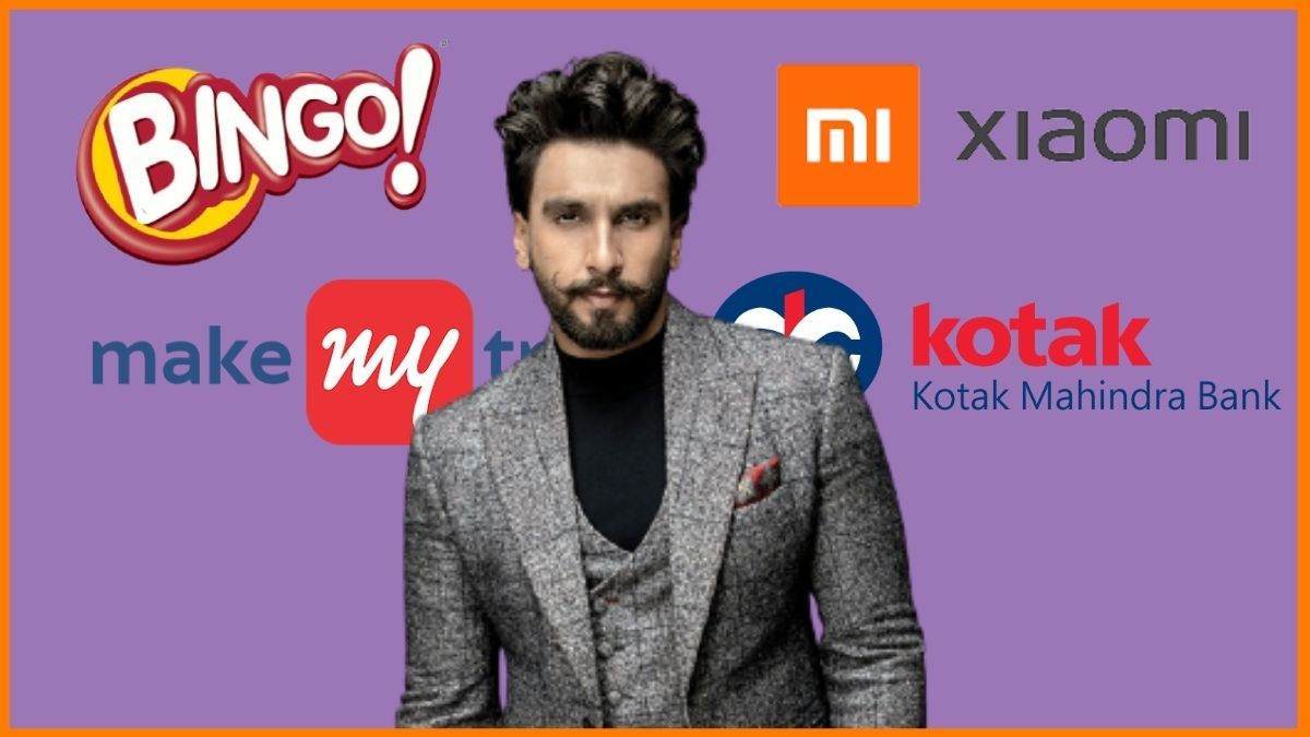 List of Brands Endorsed By Ranveer Singh