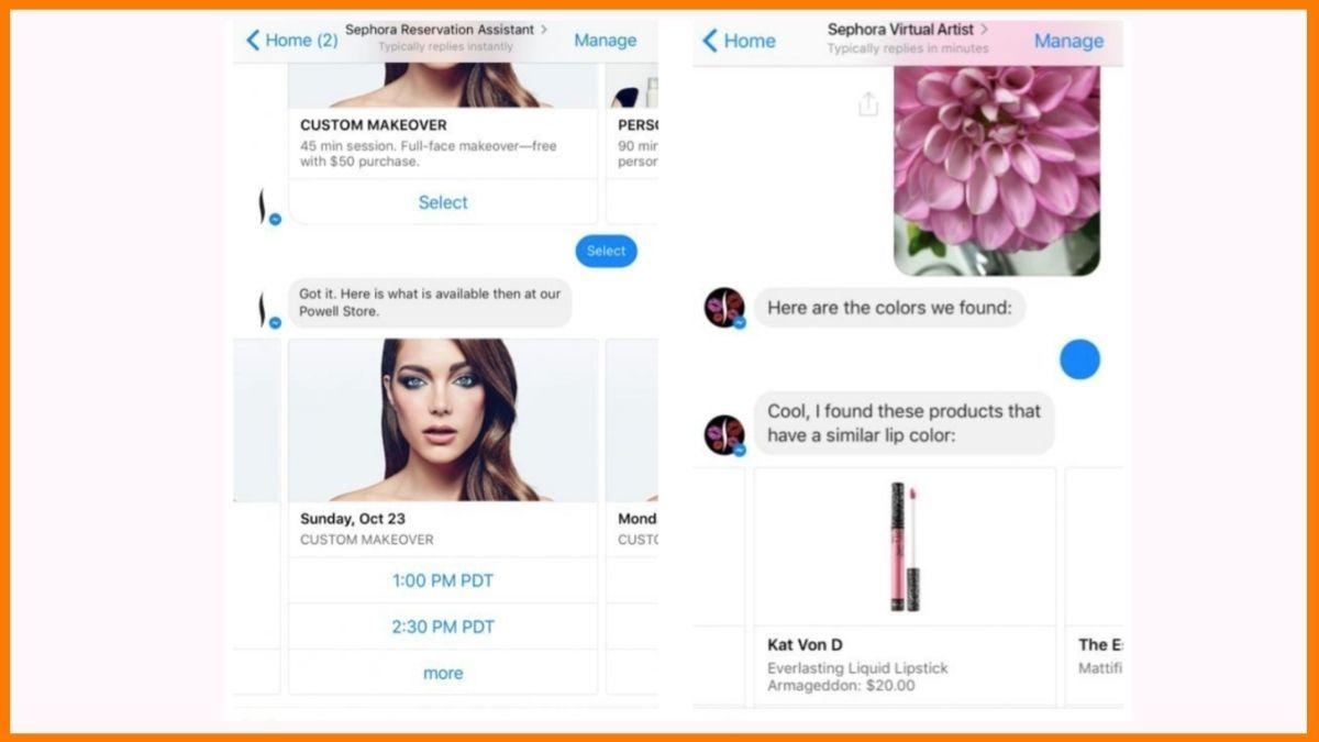 Sephora's Kik bot