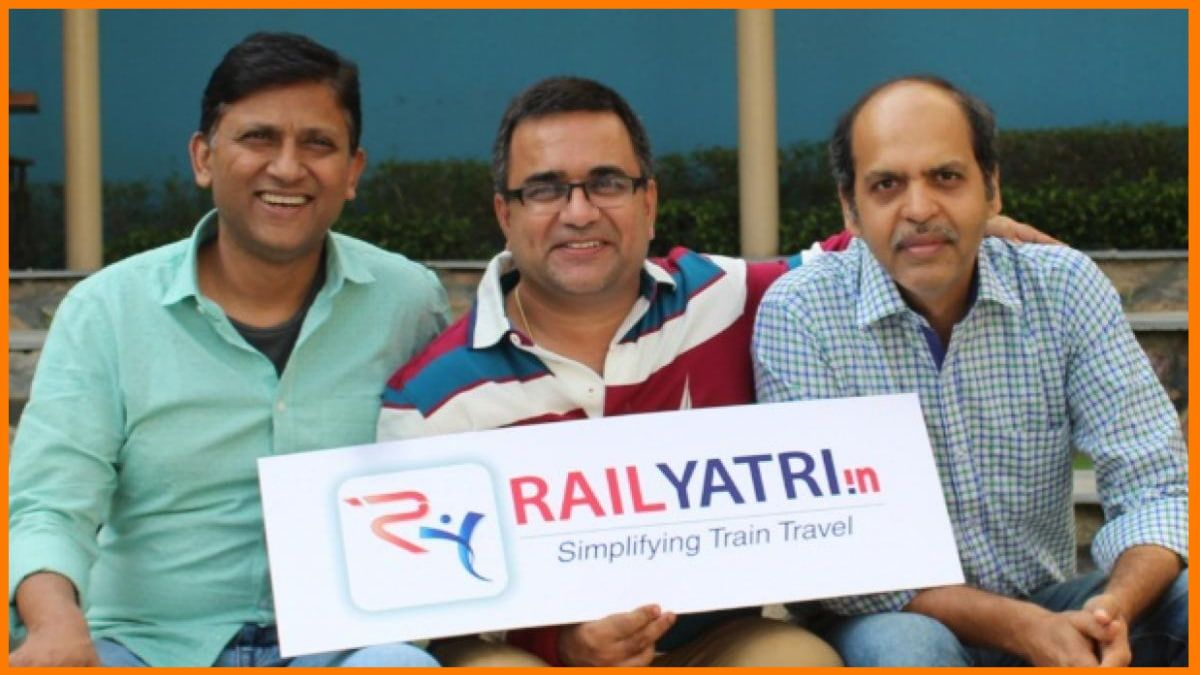 RailYatri' s Founders