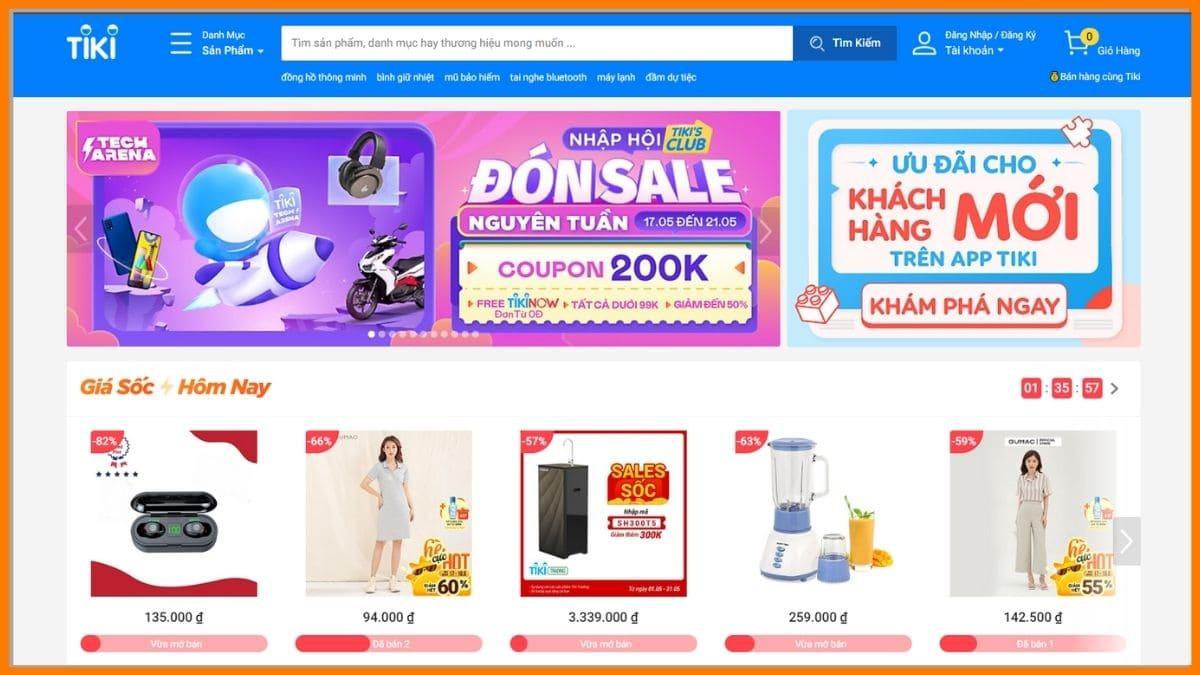Tiki.Vn Website