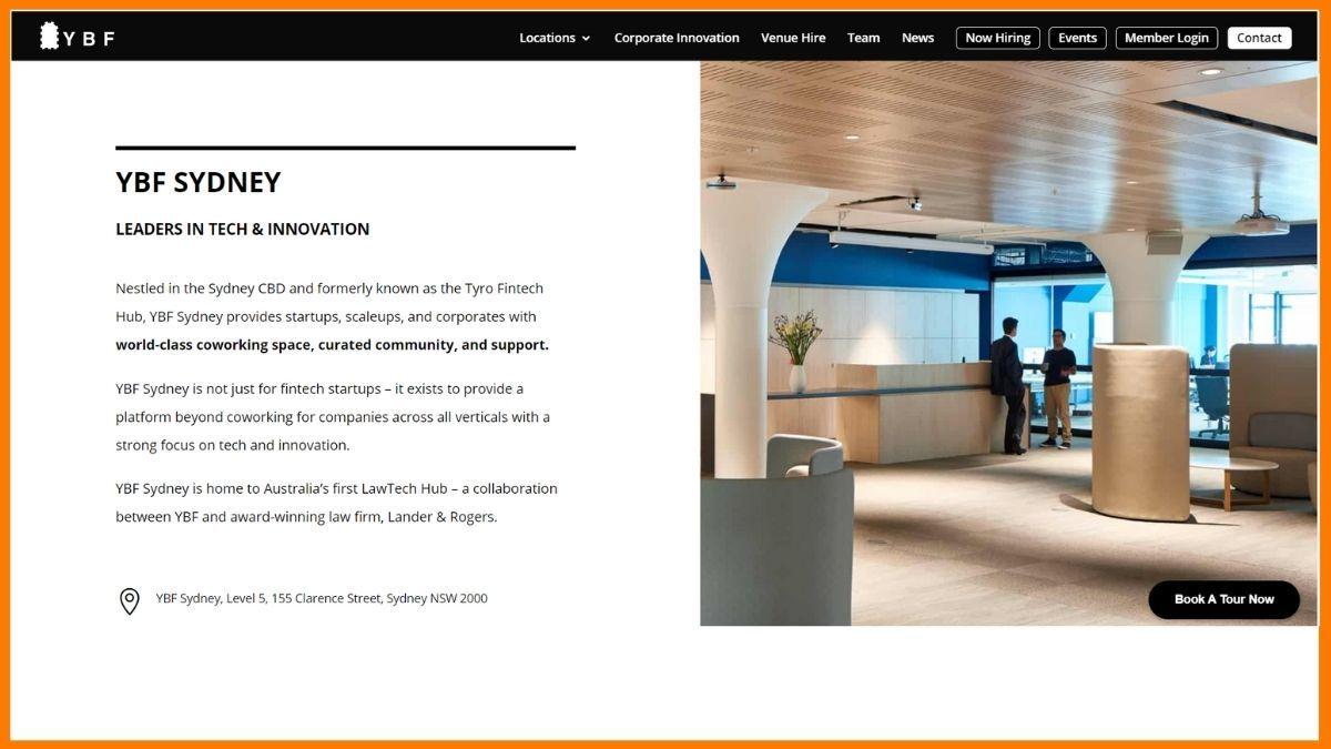 YBF Website