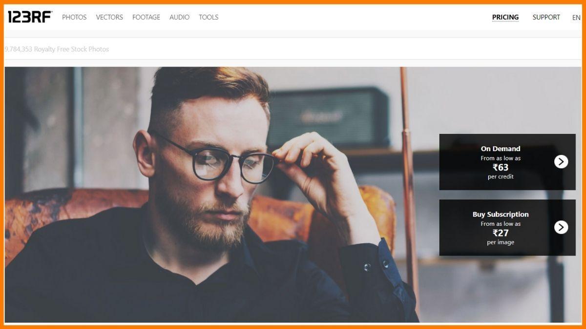 123rF Website