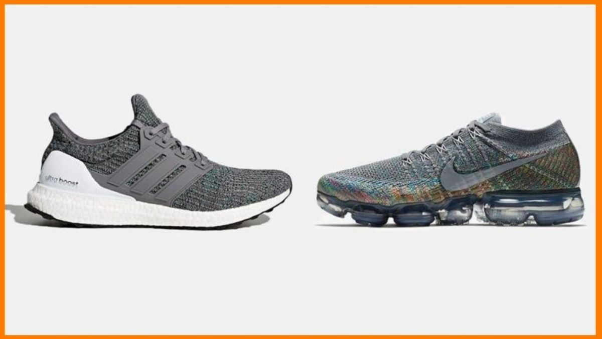Comparison between Adidas ultra boost and Nike air vapor max