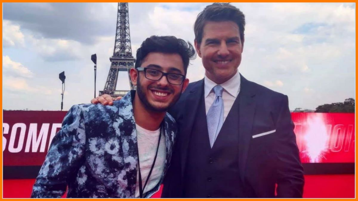 Carry Minati with Tom Cruise