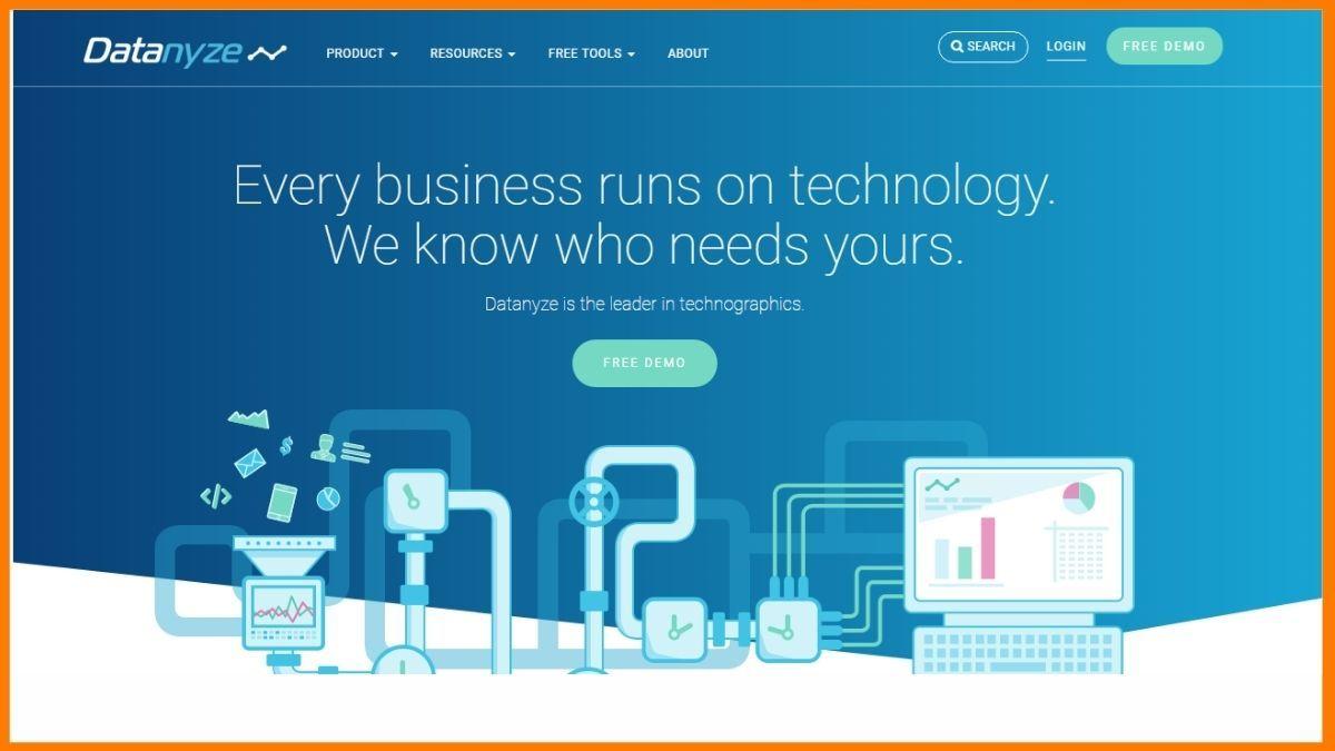 Datanyze Sales Prospecting Tool