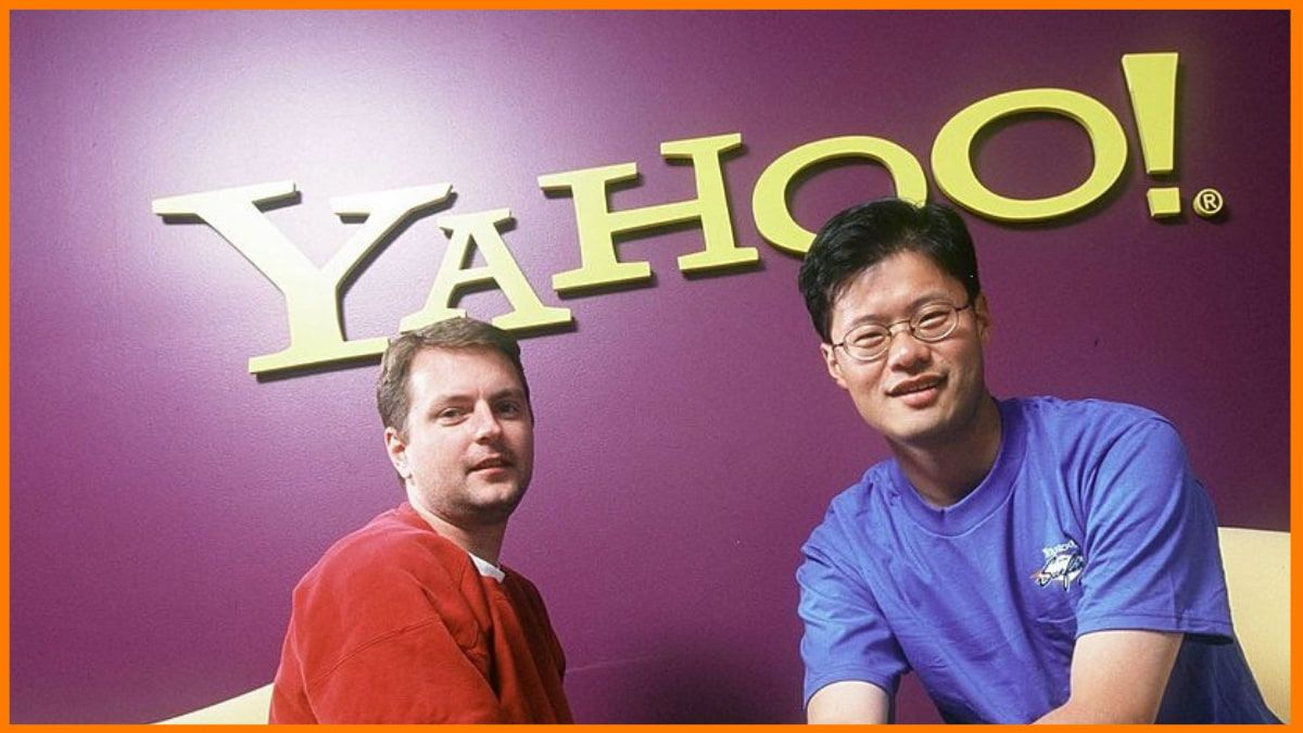 Yahoo Founders- David Filo and Jerry Yang