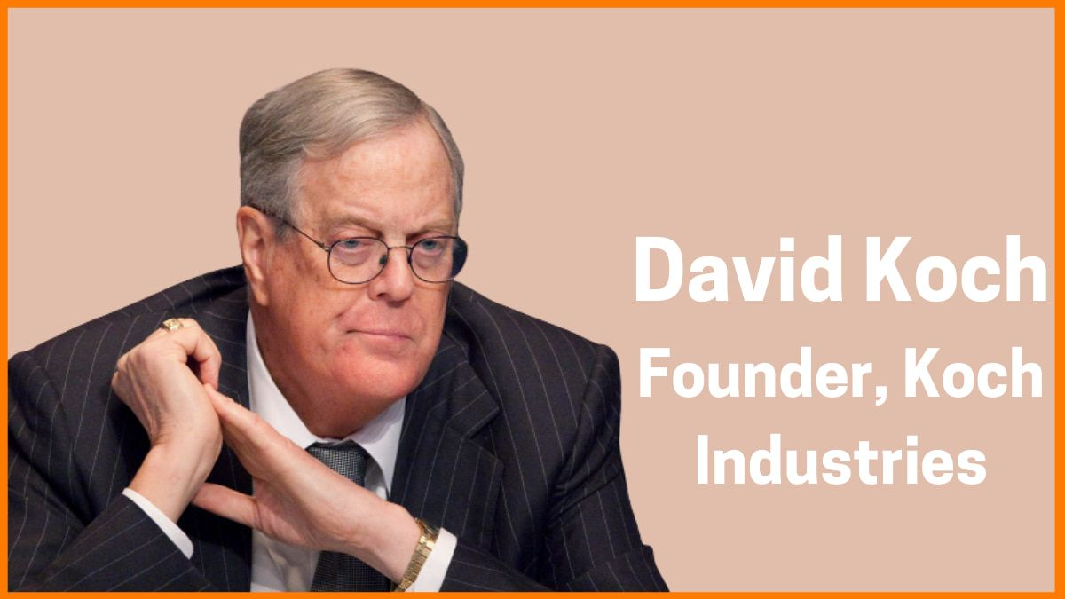 David Koch Income | Salary of Richest People in the World