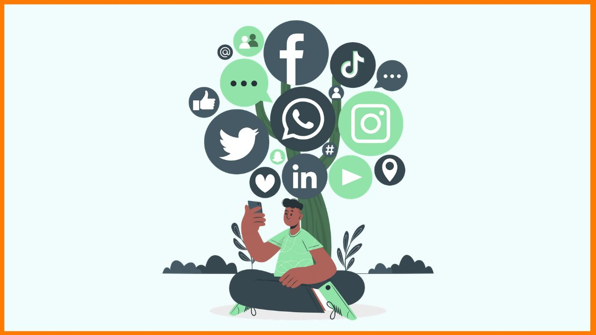 Use social media for food delivery marketing