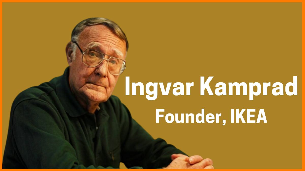 Ingvar Kamprad Income | Salary of Richest People in the World