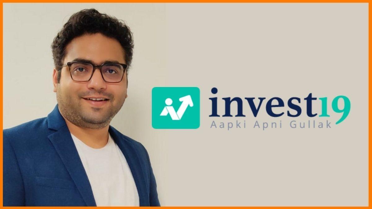 Invest19 founder
