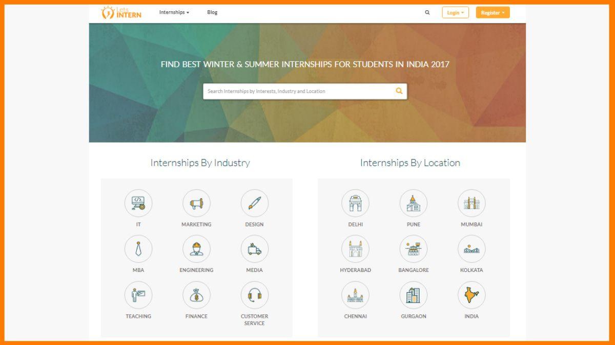 best internship sites
