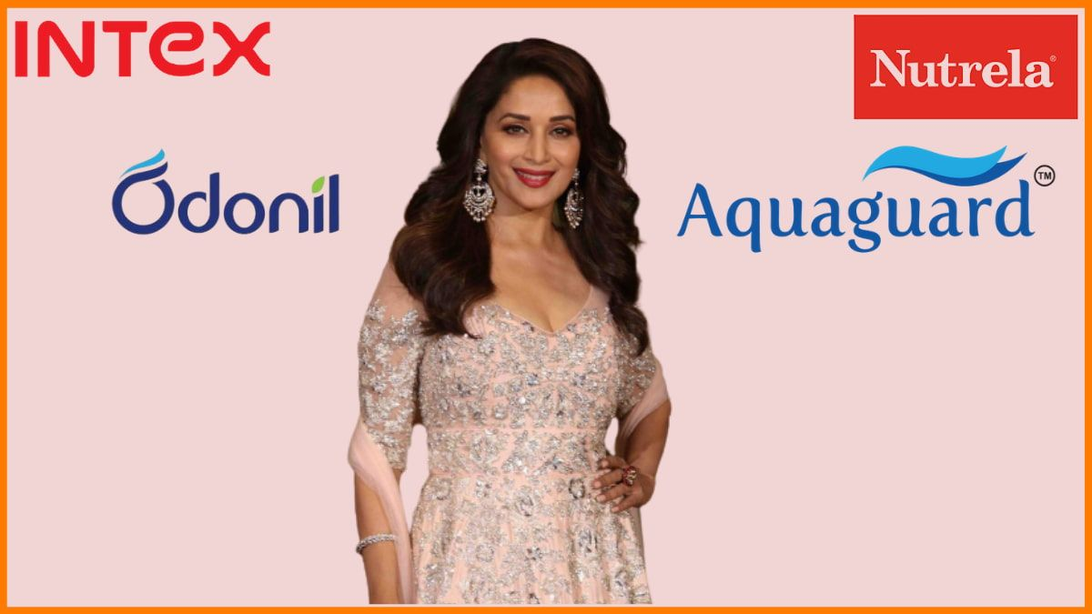 Brands endorsed by Madhuri Dixit Nene