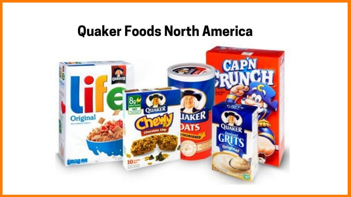 Products of Quaker foods North America