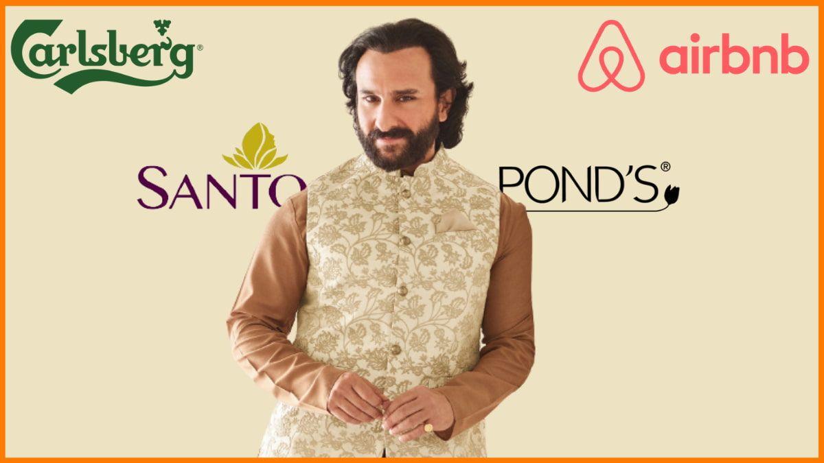 List of Brands endorsed by Saif Ali Khan