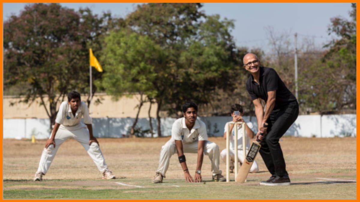 Satya Nadella is a massive Cricket fan