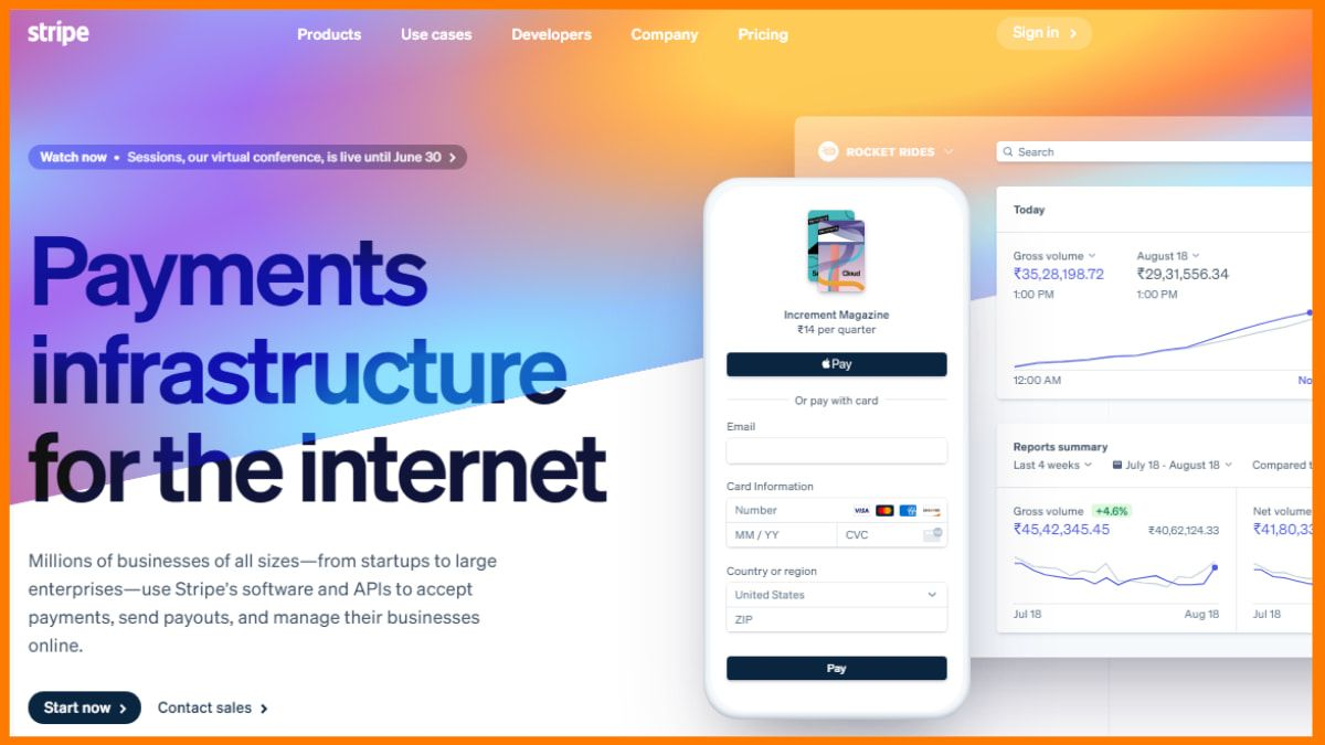 Stripe | Y combinator's Startup