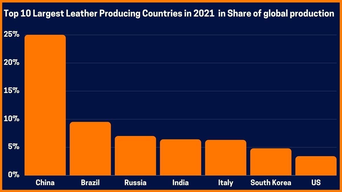 Top 10 Largest Leather Producing Countries in 2021