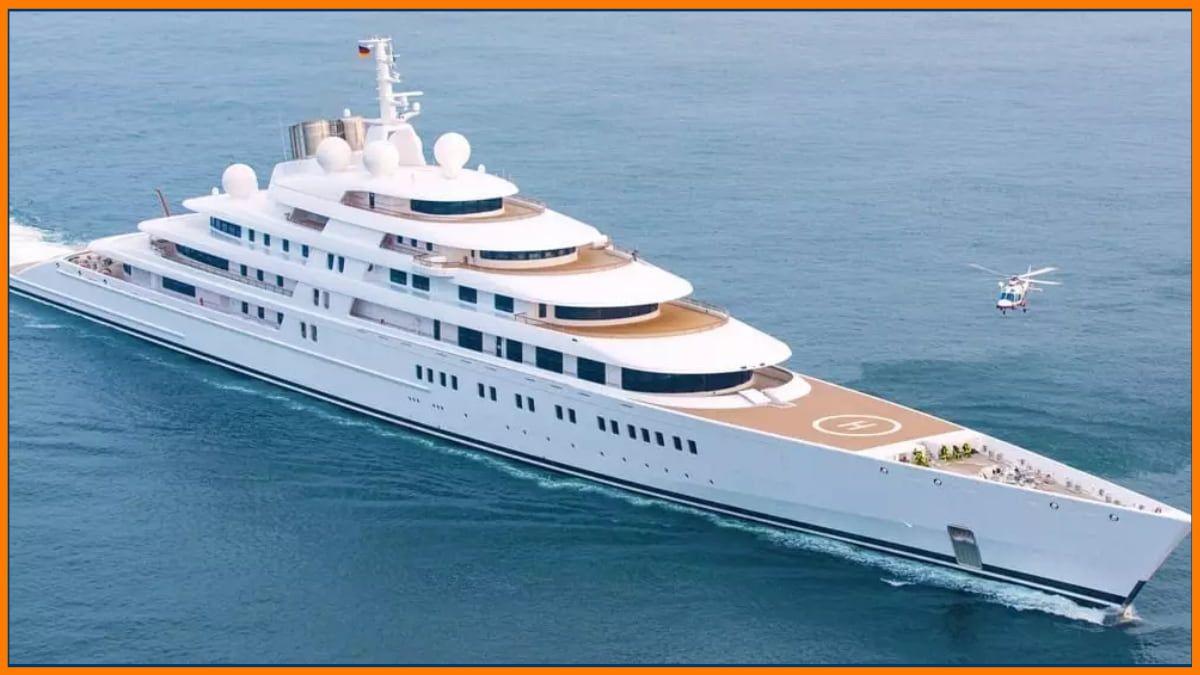 Azzam owned by Dubai's Royal Family