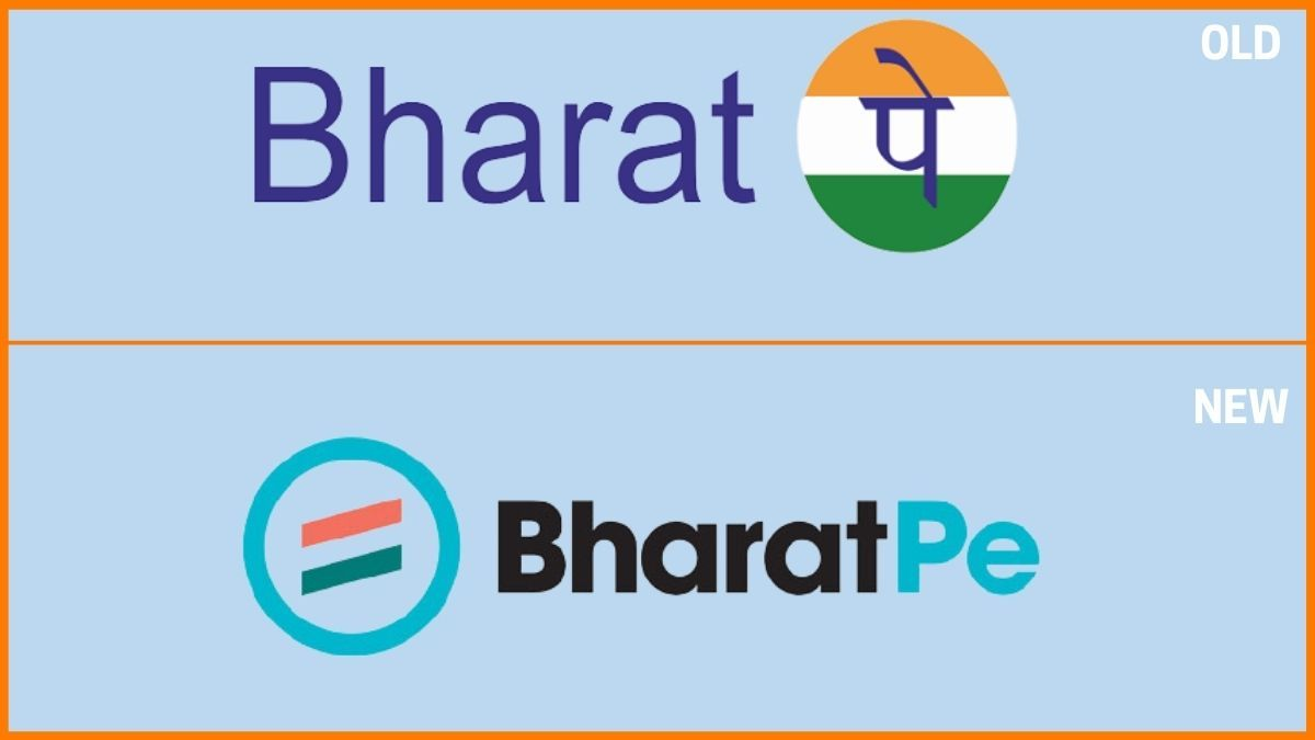 BharatPe old vs new logo