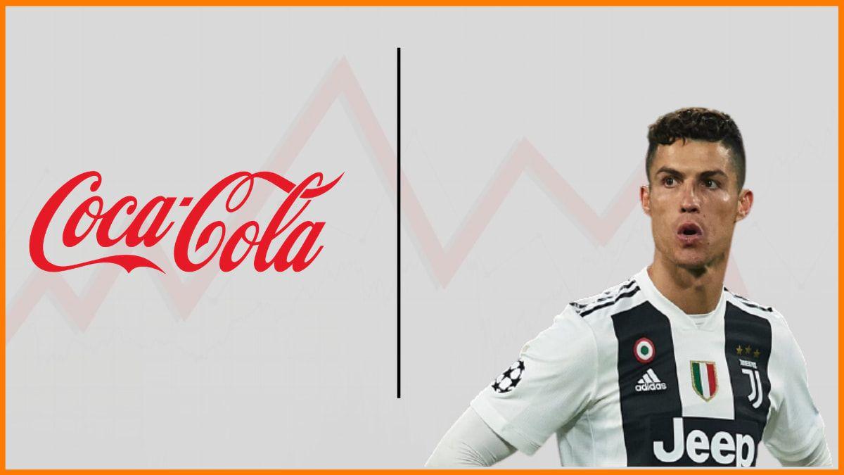 How did Coca-Cola lose $4 billion – Coca-Cola VS Cristiano Ronaldo Complete story