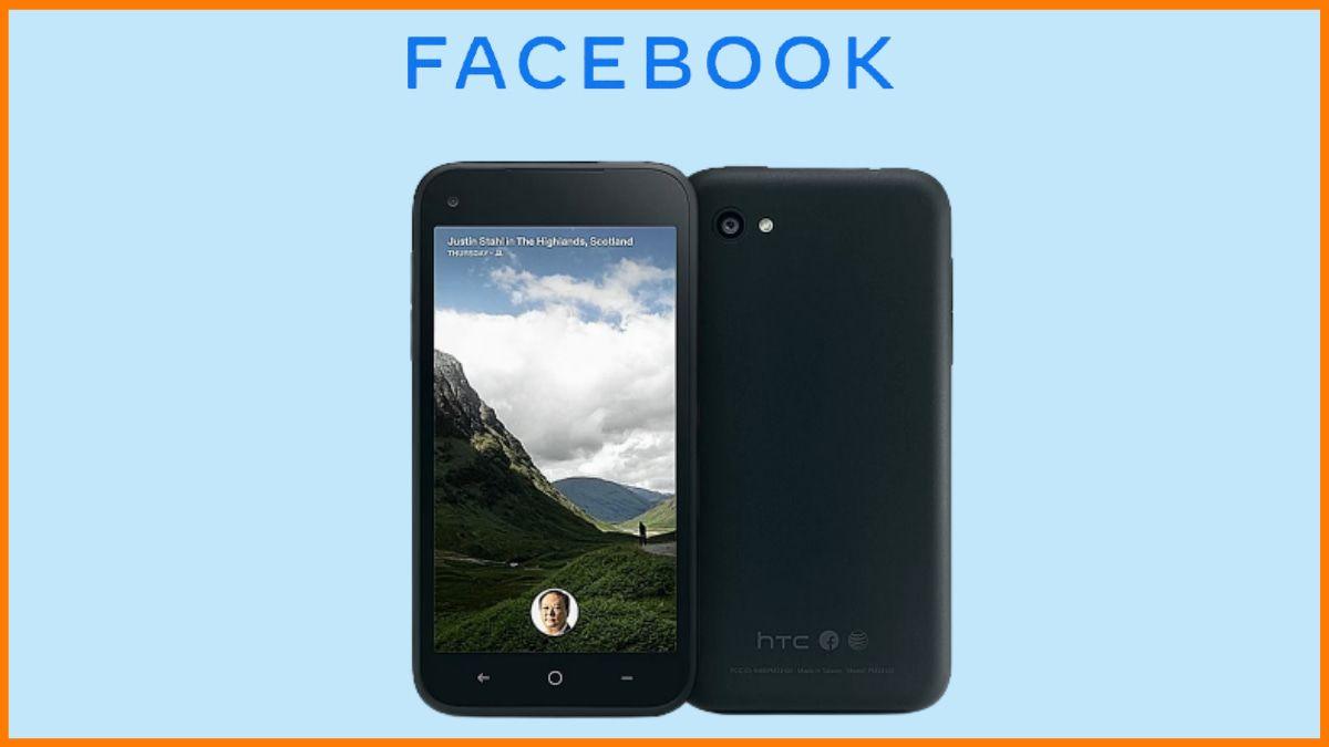 Facebook's First Smartphone - HTC First