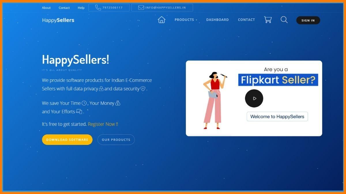 Happy sellers Website