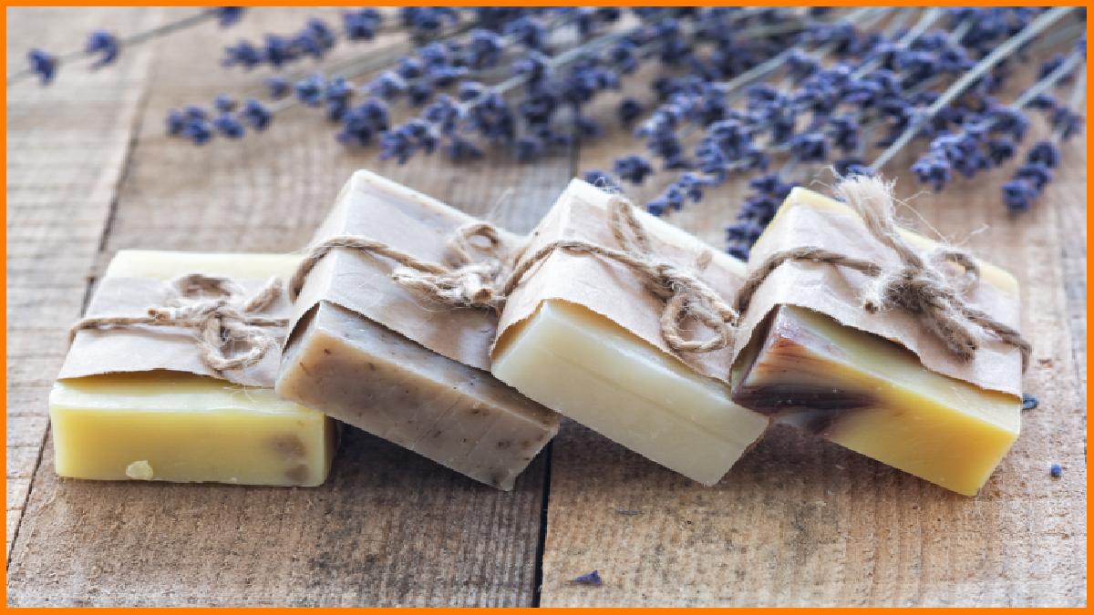 Homemade sandalwood soaps