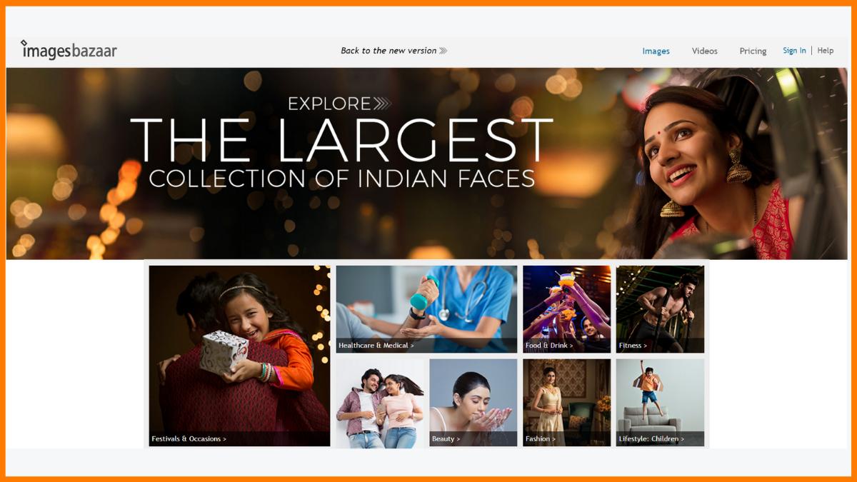 ImagesBazaar Website