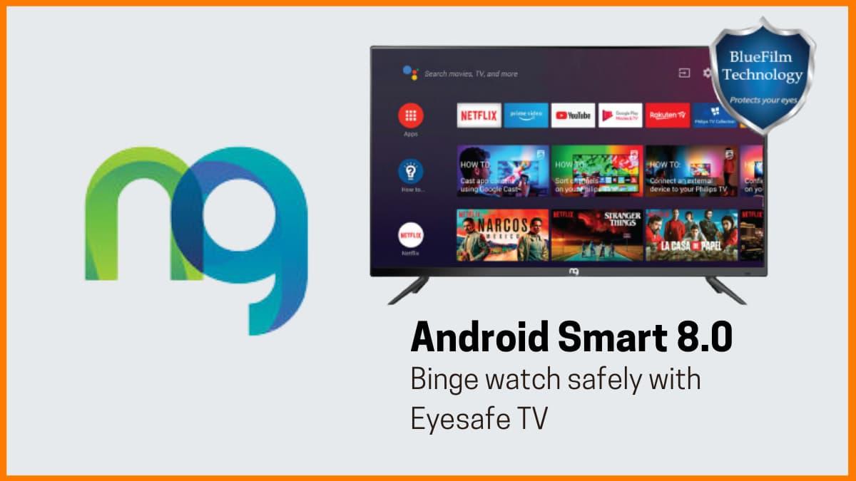 NG Corp - India's 1st EyeSafe LED TV & EarSafe Earphones