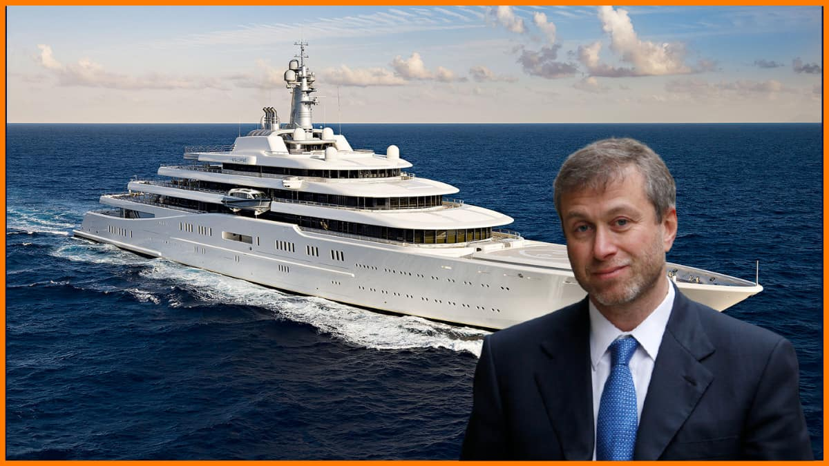 Eclipse owned by Roman Abramovich