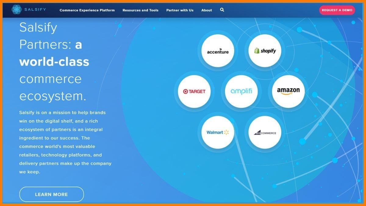 Salsify Website