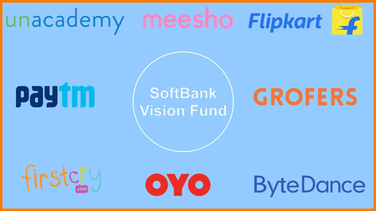 Startups Funded Through SoftBank's Vision Fund