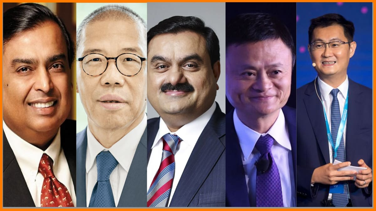 List of Top 20 Richest People of Asia in 2021