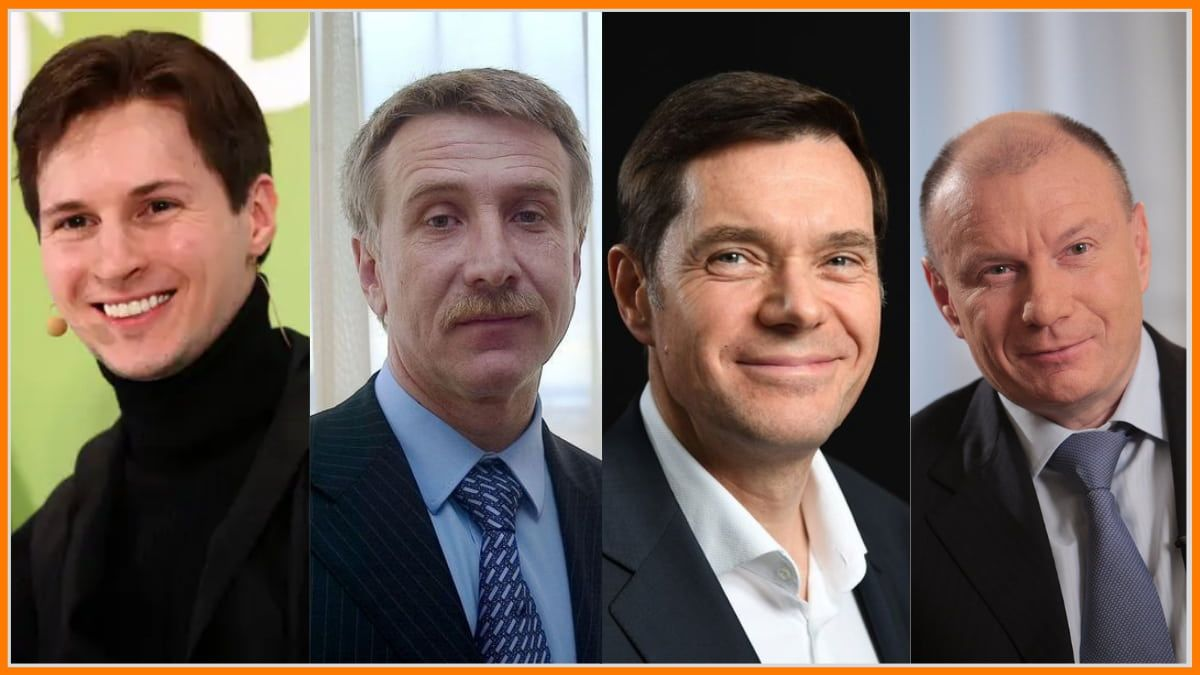 Top 15 Richest People of Russia