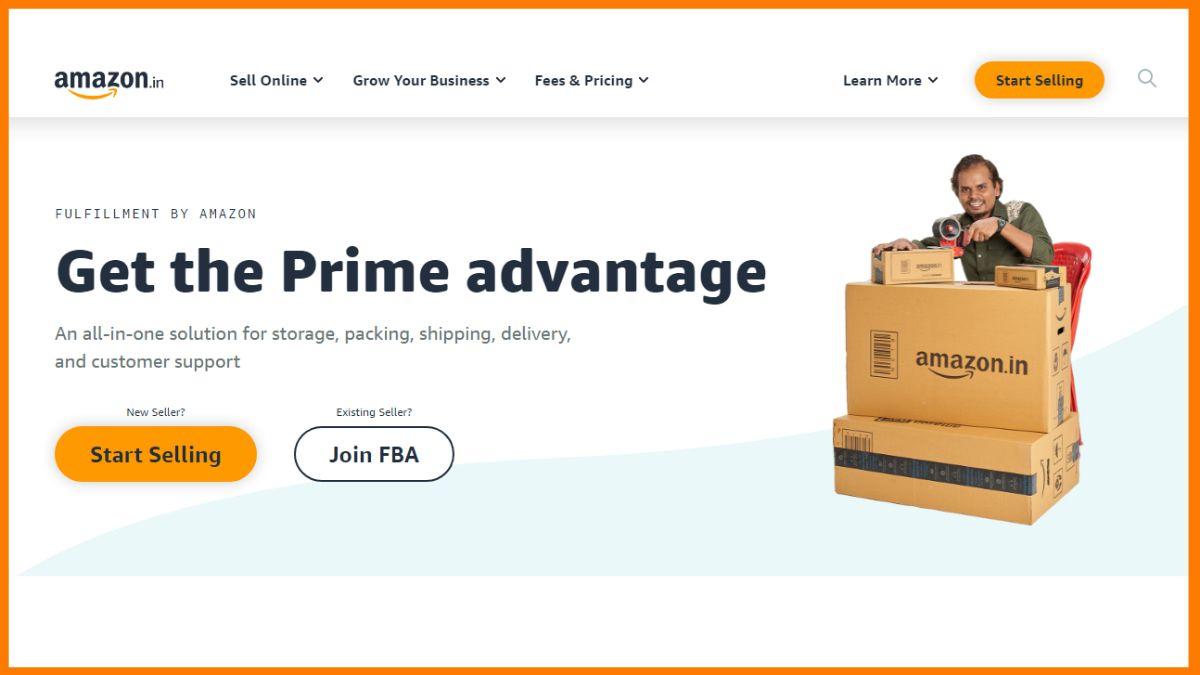 Amazon Join FBA Business