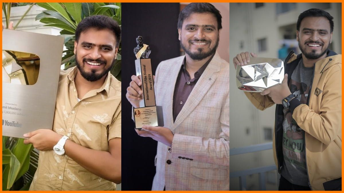 Success story of Amit Bhadana - First Indian YouTuber to reach 20 million subscribers