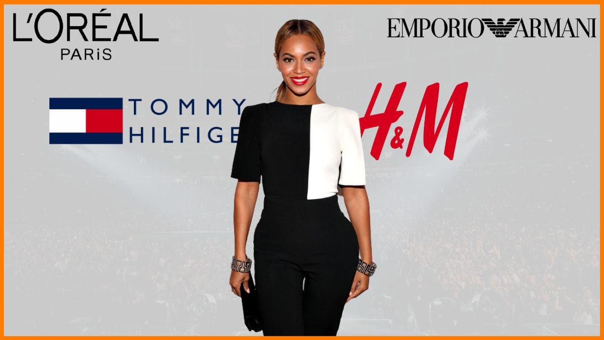 List of Brands Endorsed By Beyoncé