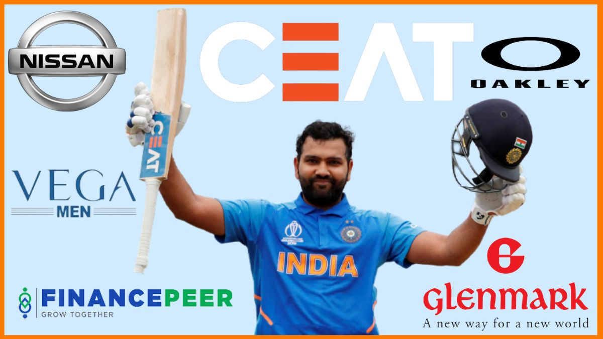 List of Brands endorsed by Rohit Sharma