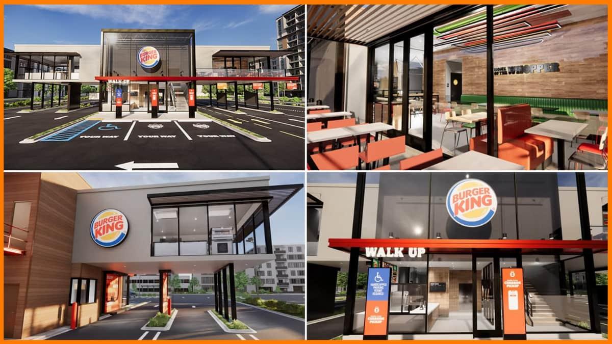 Burger King Touchless Technology Restaurants
