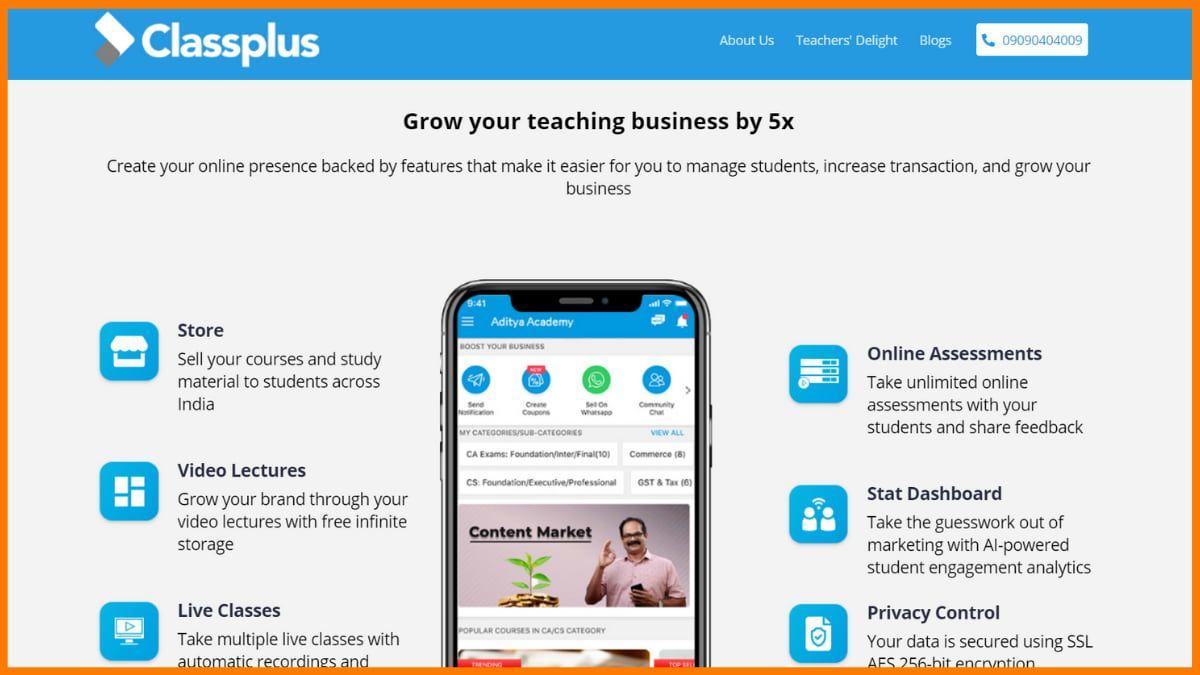 Classplus website