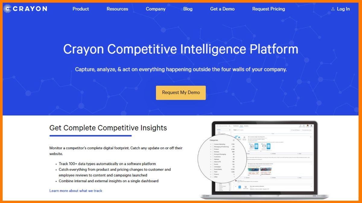 Crayon- Free Online Competitor Analysis Tools