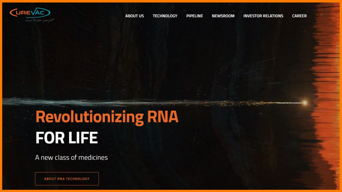 CureVac Website
