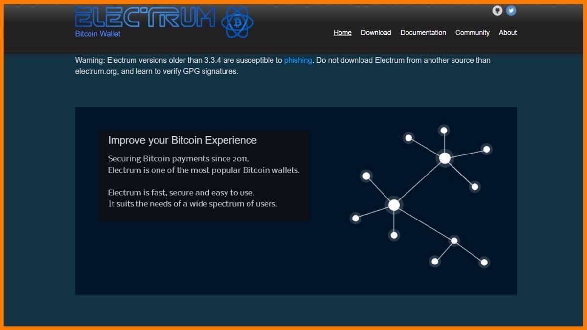 Electrum Website