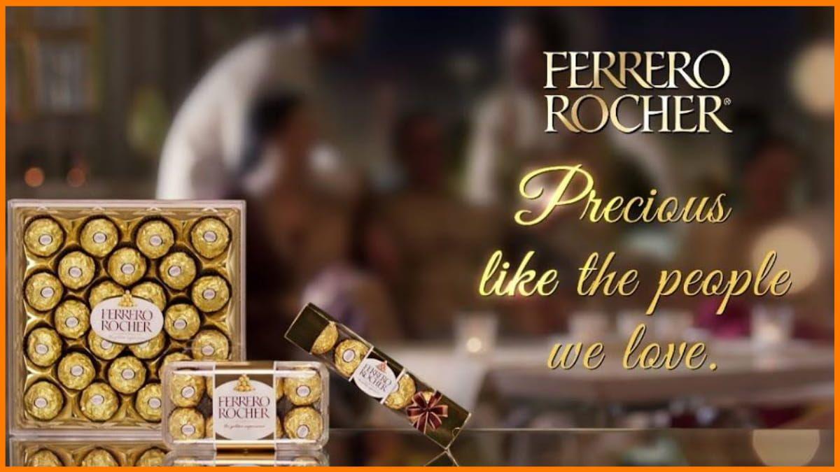 Ferrero Rocher Advertisement