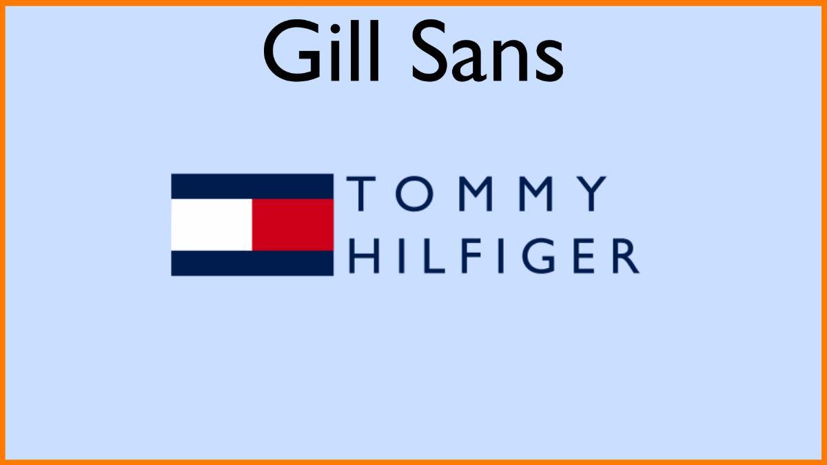 Gill Sans Logo