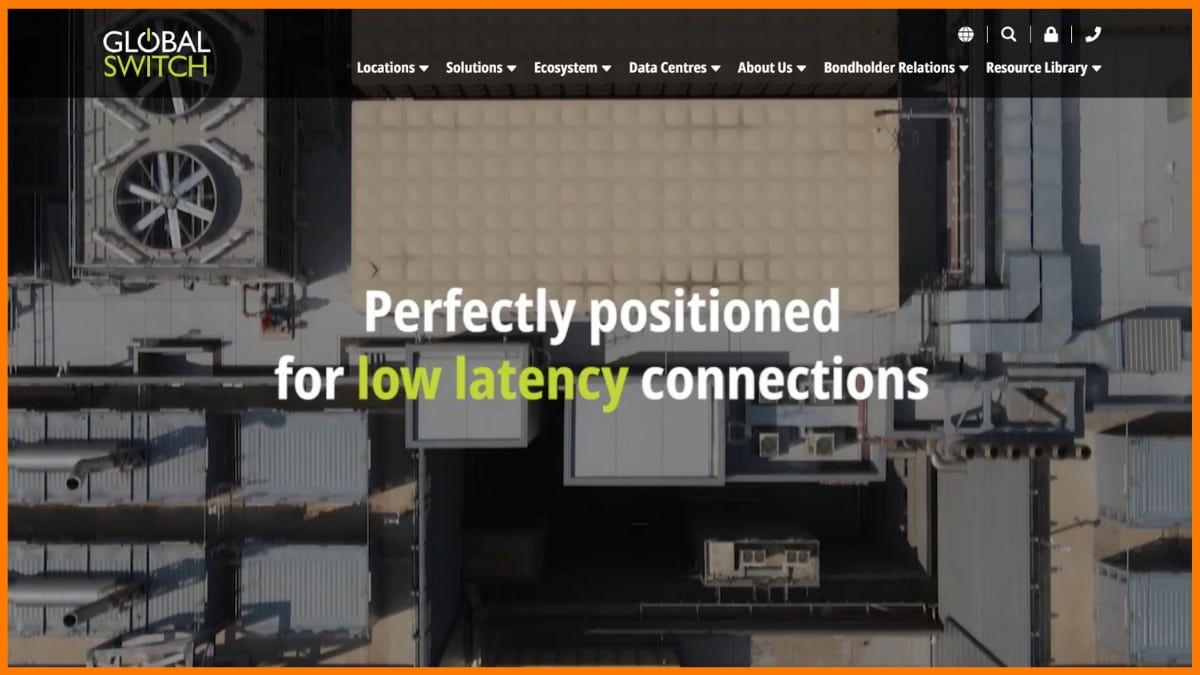 Global Switch Website
