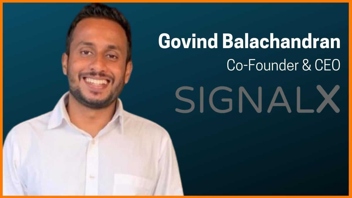 SignalX founder and Ceo