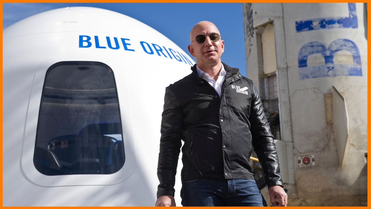 Jeff Bezos- Blue Origin, Founder | Space Travel Startup