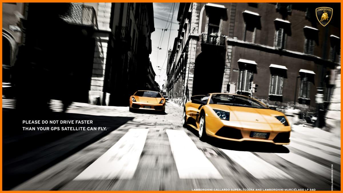 Lamborghini Advertising
