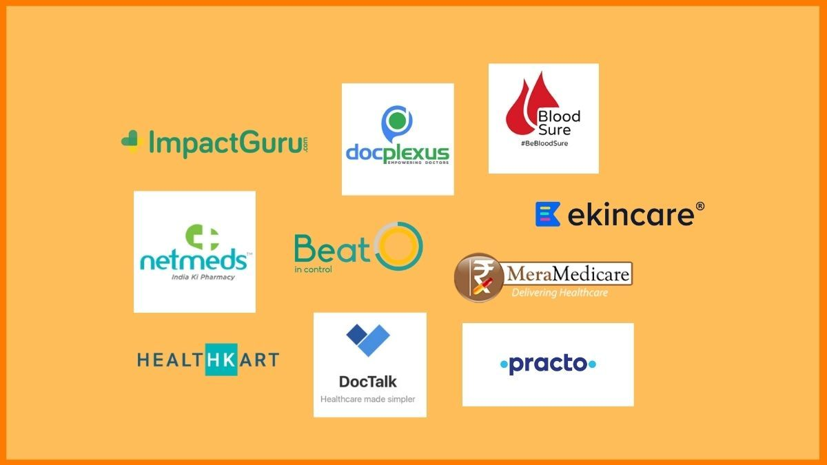 List Of Healthcare Startups In India | Innovative Healthcare Startups